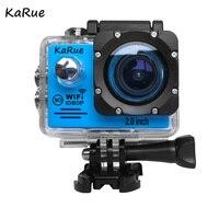 Karue 10 шт. HD 1080 P экшн камеры DV Спорт 2.0 ЖК дисплей WI FI 30 м Водонепроницаемый Pro Hero Стиль камеры интимные Аксессуары Открытый Действие