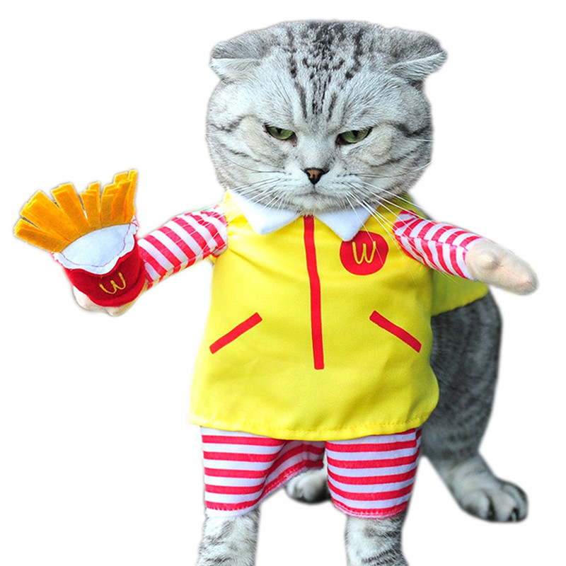 Mc'Ds French Fry Cat Halloween Costume
