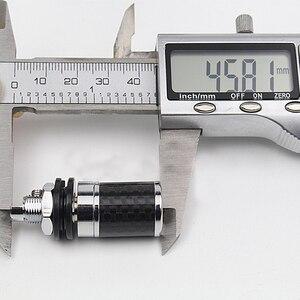 Image 3 - 4PCS High Quality Carbon Fiber Rhodium Plated Binding Post Speaker Amplifier Terminal HI END Grade