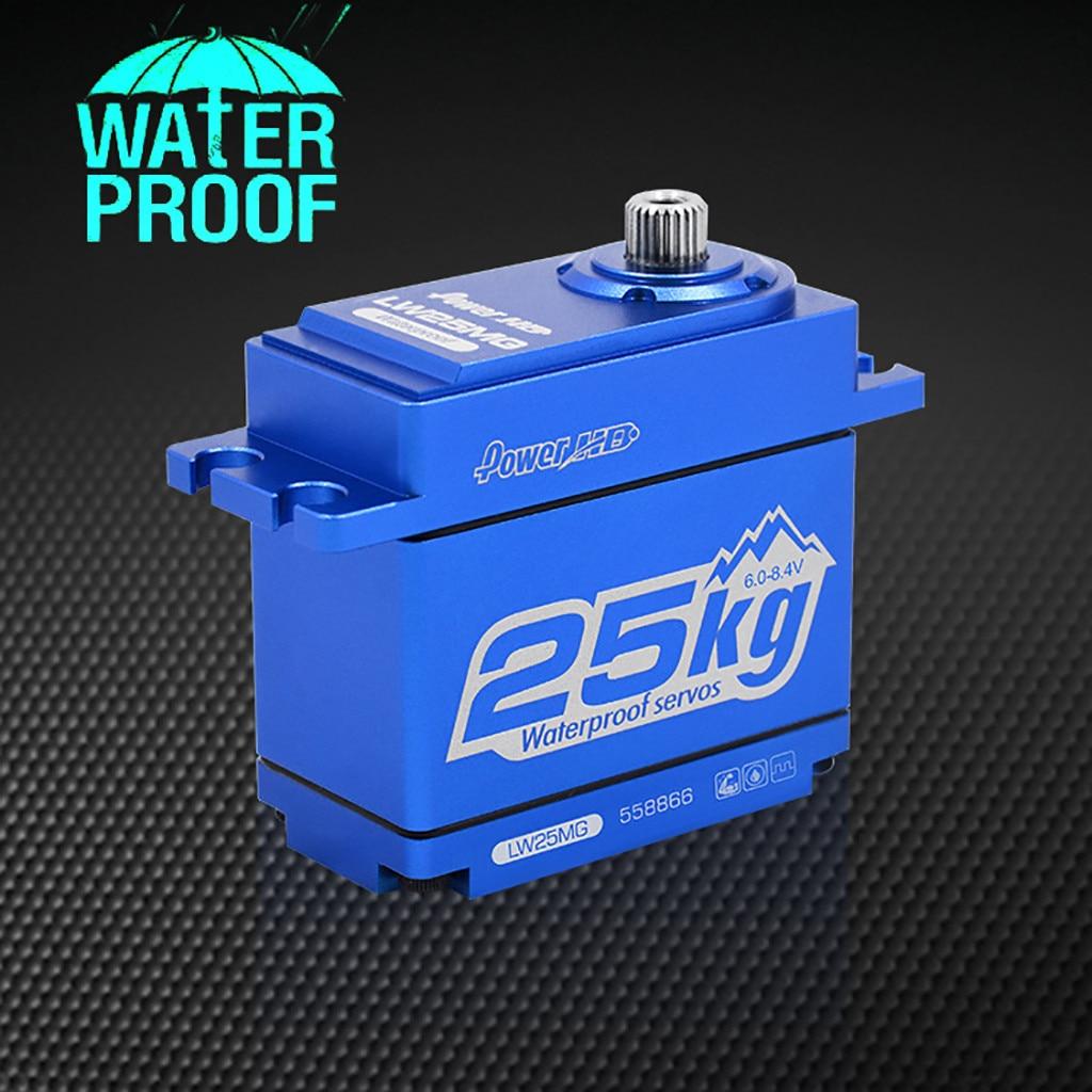 Power HD LW 25MG Waterproof Super Torque Digital Servo For Traxxas TRX 4 KM2 Accessories Toys
