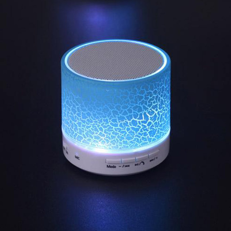 10PCS Wireless Bluetooth Speaker Mini A9 Bluetooth Speaker TF Portable For Samsung Xiaomi Laptop PC Cell Phone getihu portable mini bluetooth speakers wireless hands free led speaker tf usb fm sound music for iphone x samsung mobile phone