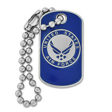 cheap soft enamel dog tag custom high quality Stainless Steel Custom Military U.S. Air Force Dog Tag Enamel
