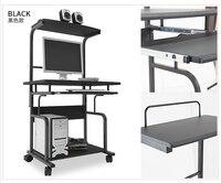 Двухместный компьютерный стол. настольные бытовые. рабочий стол. подвижным столом