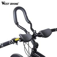 WEST FIETSEN Mountainbike Race Fiets MTB Aluminium Triathlon Aero Fietsen Schorsing Rest Stuur Rest Handle Bars Retail