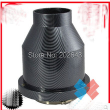 23016 high power car air filter with carbon cover 76mm neck carbon filter universal for car intake wholesales & retailer