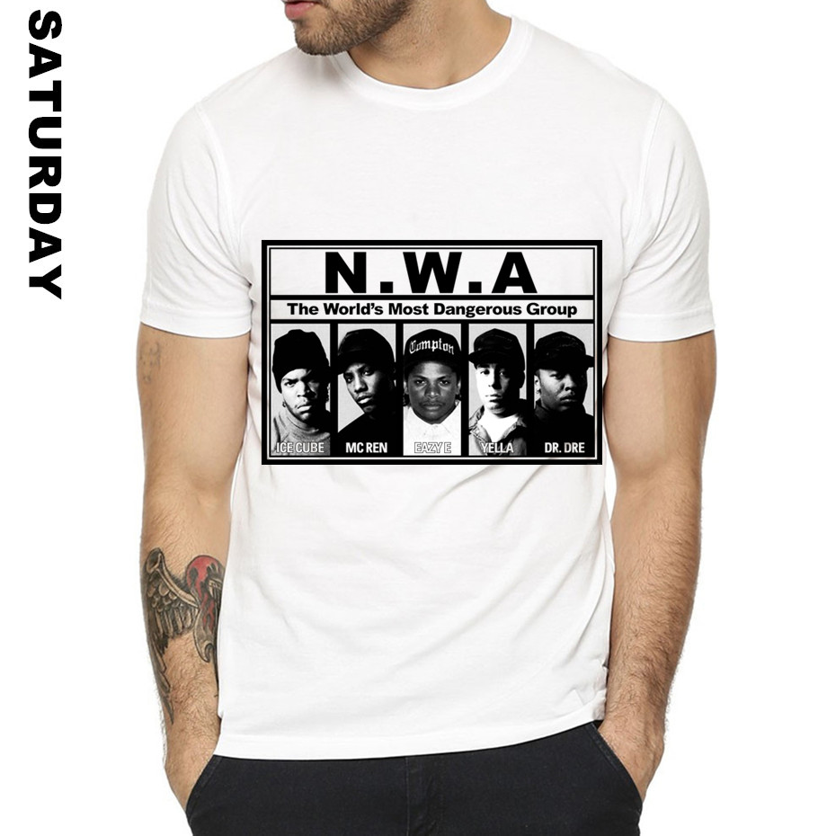 001d7ae4094a NWA Straight Outta Compton HipHop Design Funny T Shirt for Men and Women,Unisex  Comfortable