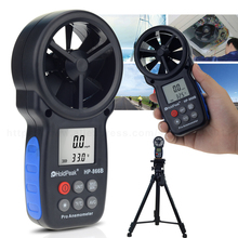 Free Shipping Multifunction Handheld Digital Anemometer Speed Measuring Instruments 0.3~30m/s Wind Temperature Tools