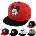 2017 Europe Cartoon mouse Children Hip Hop Baseball Cap Rubberized Summer kids Sun Hat Outdoor Boys Girls snapback Caps