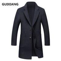 2018 spring new style coats Men's casual fashion trench coat Men business overcoats men windbreaker jackets Free shipping