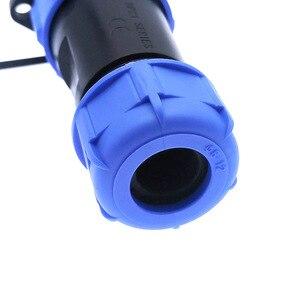 Водонепроницаемый коннектор SP2110 SP21 2/3/4/5/9/12 Pin IP68, разъем кабеля питания, штекер и гнездо