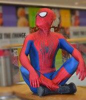 Hot sal The Amazing Spiderman cosplay costume halloween Party Superhero Cosplay zentai bodysuit for Adult/Kids