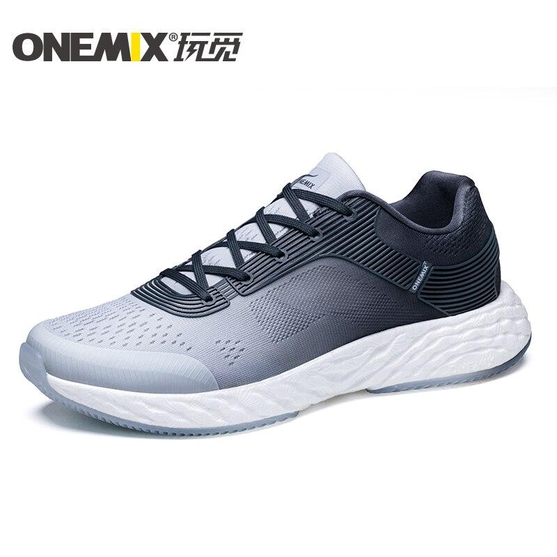 ONEMIX Men Running Shoes 58 Rebound Marathon Outdoor 270 Lightweigt Sneakers