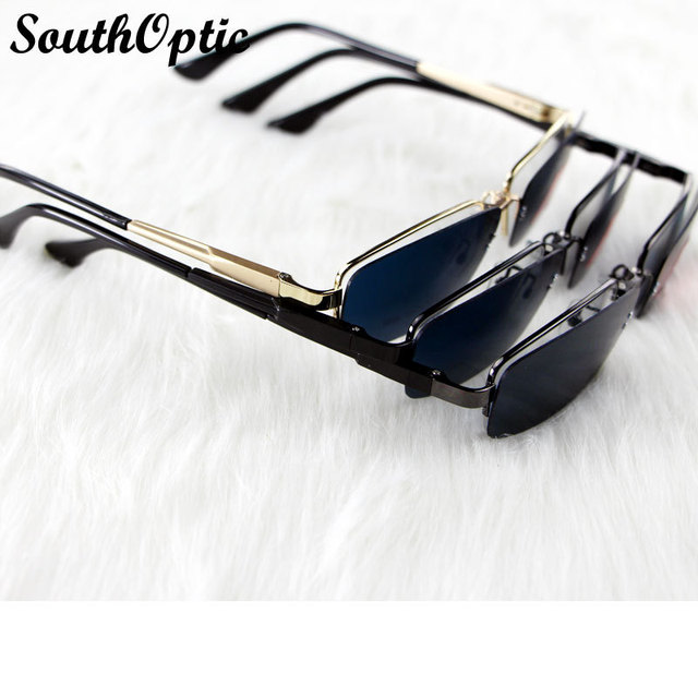 2015 popular clip on sunglasses for man and women Sunglasses Clips Lenses HD Polarized and Clear Myopia Lenses Sunglasses 9066