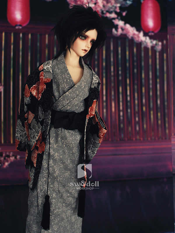 ФОТО 1/3 1/4 scale BJD accessories Japanese kimono doll clothes for BJD/SD.Not included doll,shoes,wig and other accessories 16C0697