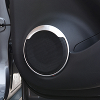 For Nissan Kicks 2016 2017 2018 2 Door Interior ABS Chrome Car Audio Speaker Car Door
