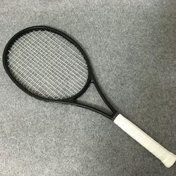 NEUEN zoll 100% kohlefaser tennisschläger Taiwan OEM qualität tennisschläger 315g Federer schwarz schläger