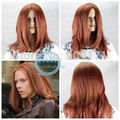 FREE SHIPPING>****^^ Black Widow COS New wig sexy Long Mix Color Cosplay Full wigs cos wig