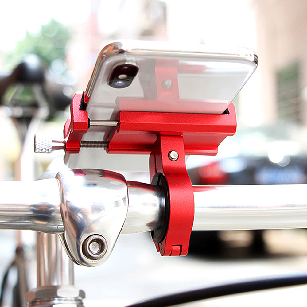 Bicycle-Phone-Holder Navigation-Racks Bike Anti-Shake Motorcycle Aluminum-Alloy GPS MTB