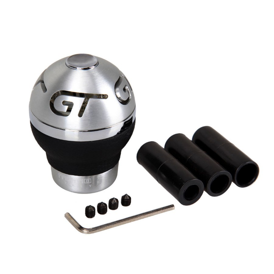Universal Car LED Manual Gear Shift Knob Shifter & Battery Hex Key Rubber Sleeve 1