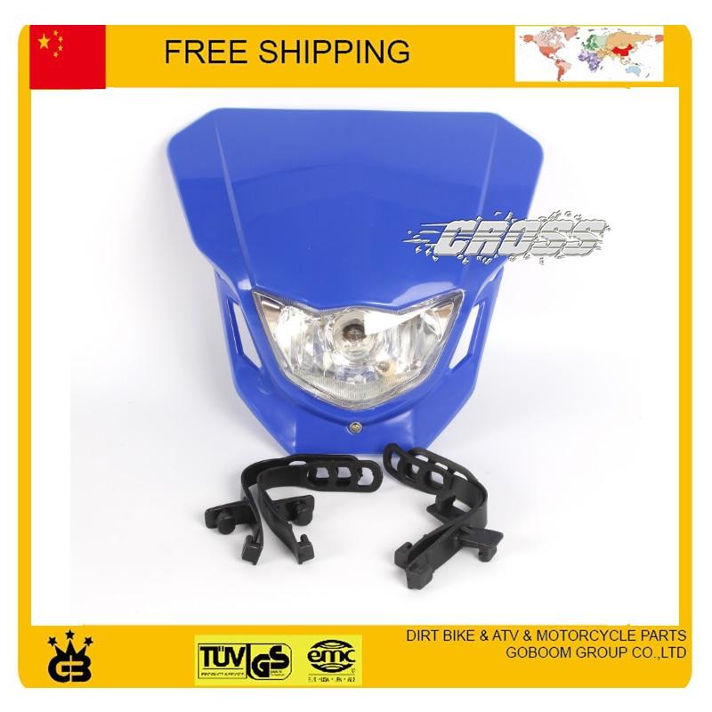 X2 T4 T8 CQR GY KTM kepala sepeda motor lampu kepala dipimpin topeng - Lampu mobil - Foto 6