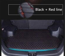 Buque de Carga automática Esteras Tronco Para Mercedes-benz C63 W205 C180-C450 2015-2017 Estera de Arranque Nuevo Bordado de Cuero esteras Envío Libre