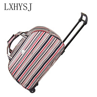 New Waterproof Trolley travel Bag Men and Women Luggage Bag High capacity Stravel Bag with wheels Travel accessories