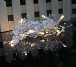 Новый фестиваль света 2 м 10Led светодиодные фонари струнные батареи коробка струнные огни украшения огни