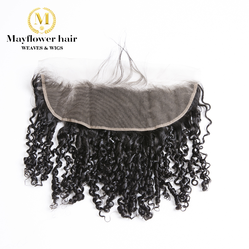 MFH Funmi Hair Tiny Curl Lace Frontal 13x4