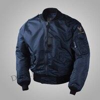 Армия ВВС США WW2 Винтаж полит Flight Bomber мужские L2B куртка в стиле милитари L2 ВВС США Весна/осень нейлон тонкое пальто Верхняя одежда MA1 плюс Разм