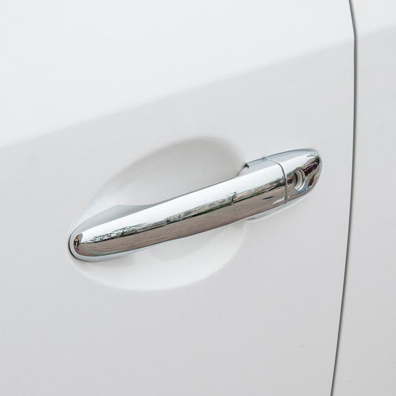 Para Mazda 6 GJ Atenza Mazda 6 M6 2014, 2015, 2016, 2017, 2018 ABS cromo lado cubierta de la manija de la puerta a accesorios de recorte pegatina 8 piezas