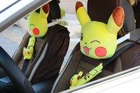 1 par 25 cm vehículo felpa cuello almohada hold cojín cubierta del cinturón de seguridad novedad niños romántico juguete de peluche