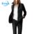 Venda quente Mais Novo Jitivr Elegantes das Mulheres Outono Inverno de Algodão Acolchoado Jaqueta Feminina Na Moda Quente Fino Outwear Casaco Botão 2016