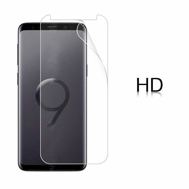 HD واضح فيلم لامع لسامسونج غالاكسي s9 Plus 6.2 في ماتي واق شاشة رقيق فيلم لوحة ال سي دي الحرس زائد القماش