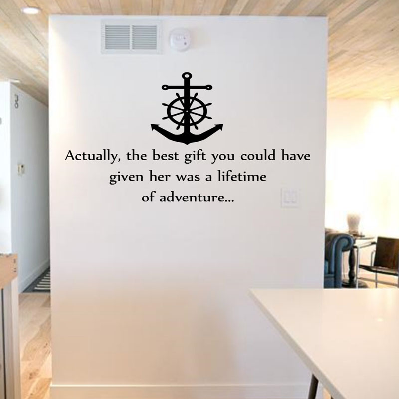 Actually The Best Gift You Could Have Given Wall Stickers Quotes Home Decor  Kids Living Room