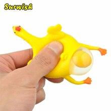 Курица-несушка. Смешные игрушки для отдыха.