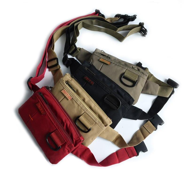 2019 Waterproof Fanny Pack Waist Bag Men Running Women Bag Belt Zipper Money Pouch Bum Bag Travel Mobile Phone Waist Pack Bag Waist Packs     -