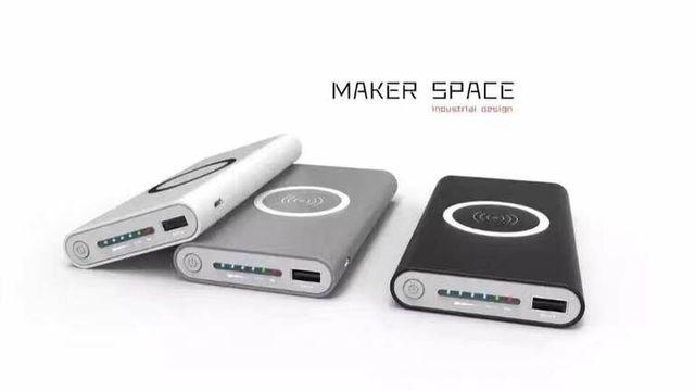 10000 mah qi cargador inalámbrico banco de alimentación usb batería recargable powerbank para iphone7 7 plus 6 s samsung s5 s6