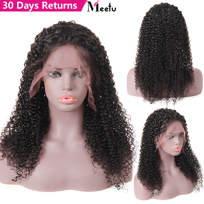 Brazilian Curly Human Hair Wig Lace Front Human Hair Wigs Remy Human Hair Wigs 180 Density