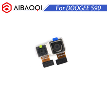 Aibaoqi original novo doogee s90 16.0mp + 8.0mp câmera traseira voltar peças de reparo substituição para doogee s90 pro telefone
