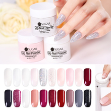 UR SUGAR 30g Dipping French Powder Glitter Dip Without Lamp Cure Gradient Base Top Activator Liquid Nail Art Decorations