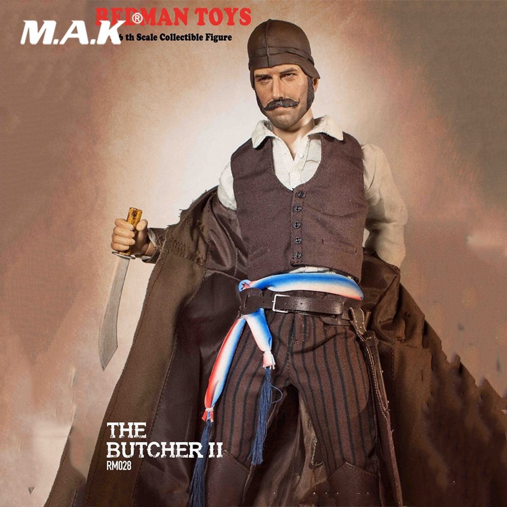 For Collection 1/6 Scale Full Set The Butcher II  RM028 Action Figure Model for Fans Collectible GiftsFor Collection 1/6 Scale Full Set The Butcher II  RM028 Action Figure Model for Fans Collectible Gifts