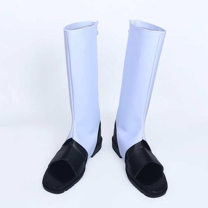 Naruto Black White Pu Leather Shoes Uchiha Obito Carnival Cosplay ...