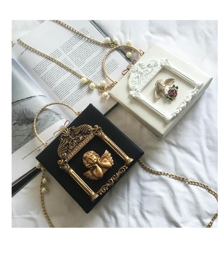 2018 NEW Rose 3D Palace Sculpture Frame Bag Luxury Handbags Women Party Bags Designer Lady Cute Shoulder Messenger Bag Sac Tote 22