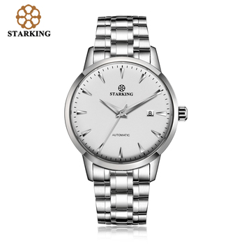 STARKING Original Brand Watch Men Automatic Self-wind Stainless Steel 5atm Waterproof Business Men Wrist Watch Timepieces AM0184 7