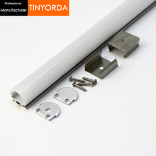 Tinyorda 500Pcs (2M Length) Alu Led Profile  Channel Profil for 13mm LED Strip Light [Professional Manufacturer] TAP1815