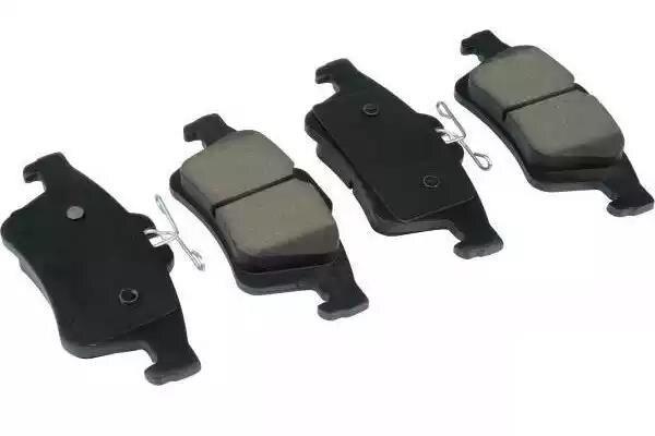 1 paire/kit plaquettes de frein avant/arrière ensemble auto voiture PAD KIT frein à disque pour MAZDA 3 FAW Pentium Automobile moteur partie C2Y3-33-23ZA - 4