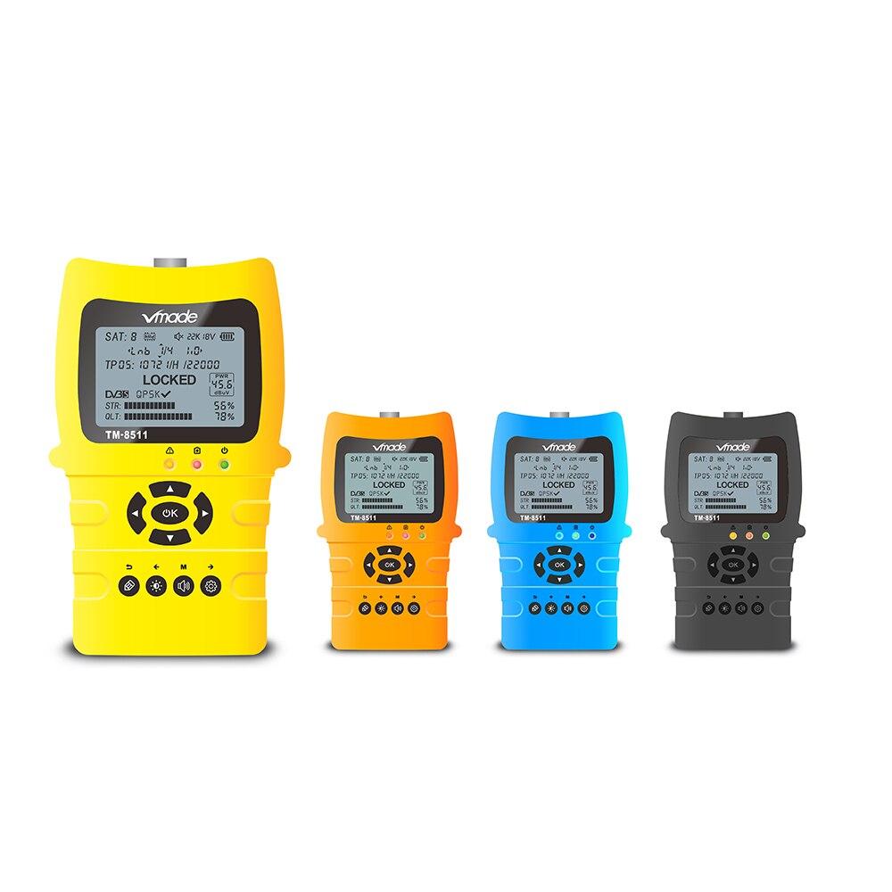 Image 5 - Vmade Satlink TM8511 Fast charging Li ion battery Digital MPEG 4 DVB S2 Satellite Meter Sat finder 1080P Satellite Signal Finder-in Satellite TV Receiver from Consumer Electronics