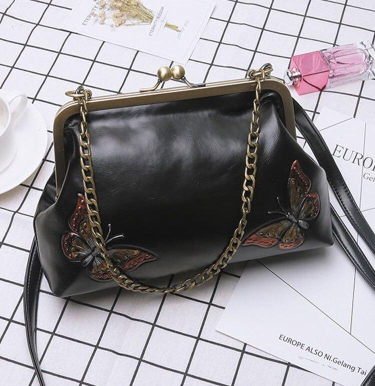 Women Handbags PU Leather Shoulder Crossbody Bags Handbag Female vintage fashion Famous Brand Women Bags (16)