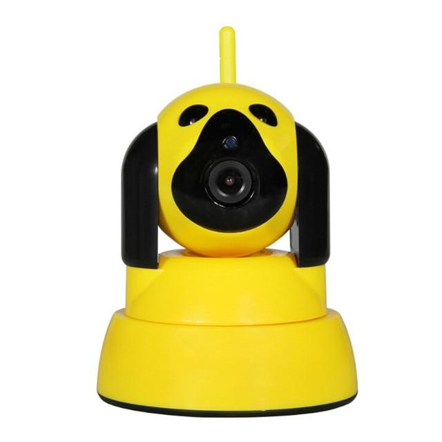Baby monitor Wi-Fi Ip-камера Главная Камеры Безопасности Беспроводной Двухстороннее Интерком симпатичные мультфильм собака HD720P поддержка Камера Ночного Видения