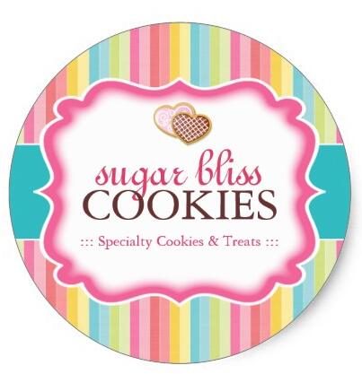1 5inch cookie and dessert packaging stickers in stationery sticker from office school supplies on aliexpress com alibaba group